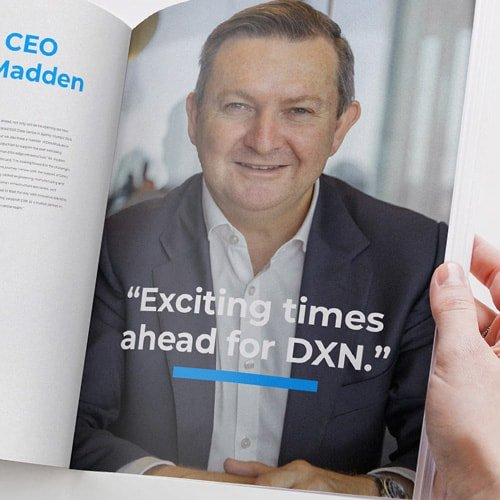 DXN welcomes new CEO Mr Matthew Madden